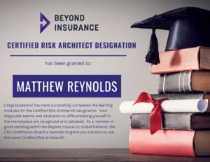 Matthew Reynolds Designation